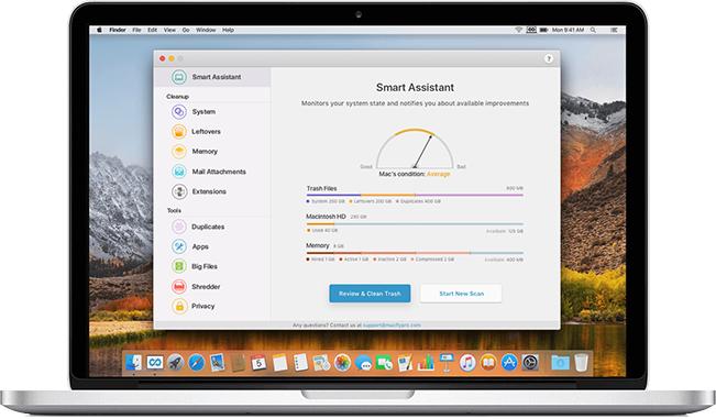 Smart Mac Cleaner for Your Mac | MacFly Pro