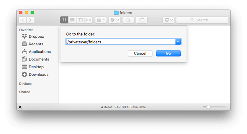 open hidden folders mac