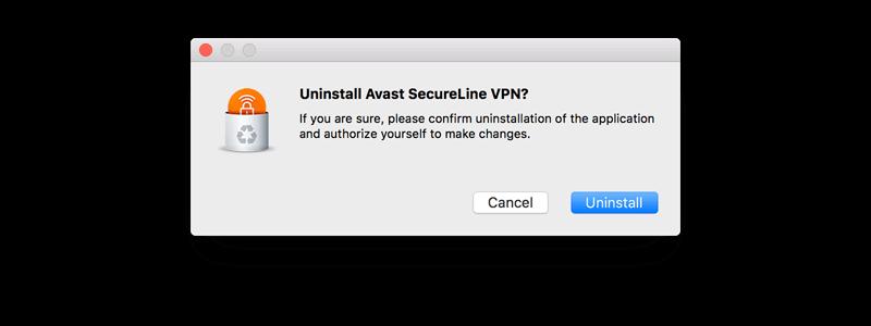 should i remove avast secureline
