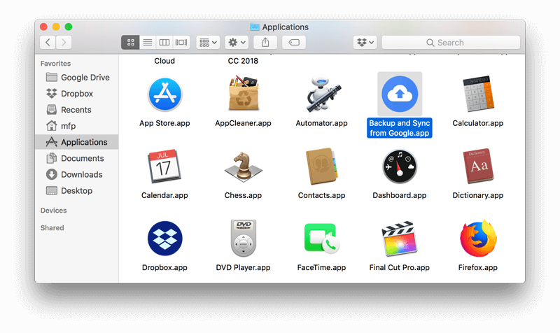 How to Uninstall Google Drive on Mac | MacFly Pro