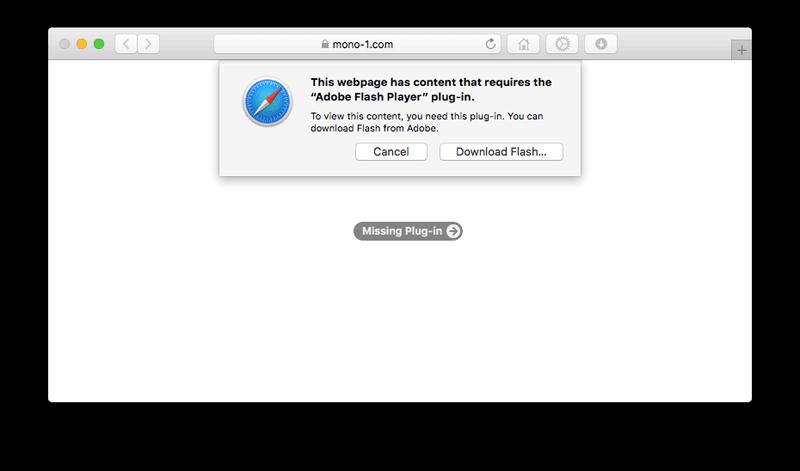 Uninstalling Flash Player For Mac